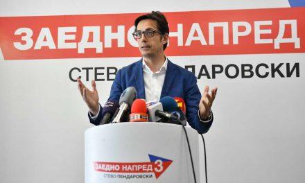 Пендаровски: Задоволен сум што граѓаните гласаа за напредок, ги разбирам и граѓаните кои не излегоа, очекувам победа на 5. мај