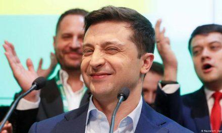 Украина избра нов почеток со комичар
