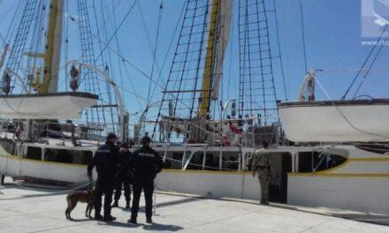 Во Црна Гора уапсен подофицер поради 50 кг кокаин на брод за обука