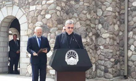 Стојанов: Папата доаѓа поради блиските односи на двете држави, верниците и Мајка Тереза