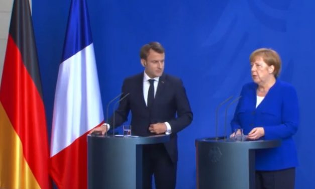 Прес конференција на Ангела Меркел и Емануел Макрон во Берлин (видео)