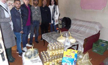 Младите прилепски социјалдемократи со хуманитарна акција за помош на социјално загрозено семејство