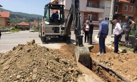 """Делчево: Се гради атмосферска канализација на """"Григор Прличев"""""""