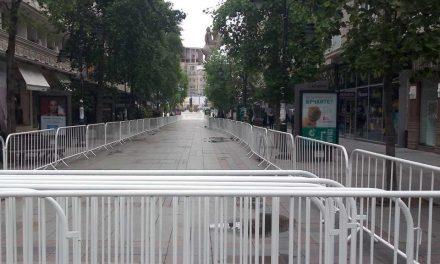 Скопје веќе оградено поради посетата на Папата, важат посебни правила на движење