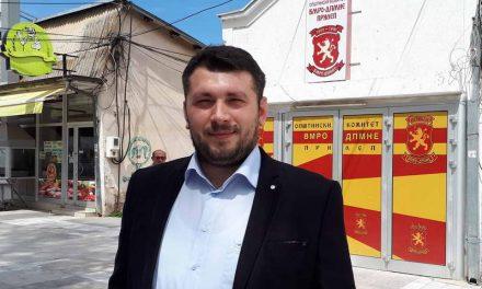 """СДСМ Прилеп: Насилството на координаторот на ОК на ВМРО-ДПМНЕ, Петар Ристески, е доказ дека партијата е длабоко заглавена во """"груевизмот"""""""