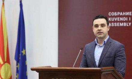 Костадинов: ВМРО-ДПМНЕ останува во одбрана на криминалот, Мицкоски останува пион во рацете на Груевски