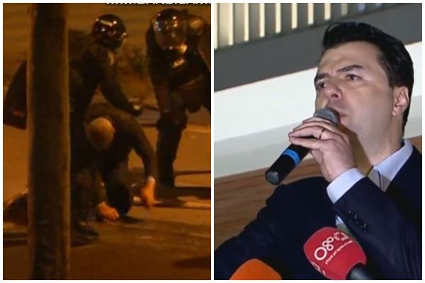 Опозицискиот протест во Тирана прерасна во насилство