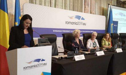 Зорица Заева на конференција за улогата на жените во модерното општество во Букурешт