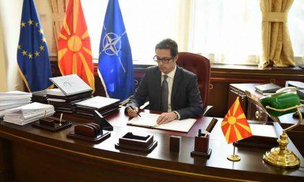 Потпишани укази на Претседателот на Република Северна Македонија, Стево Пендаровски