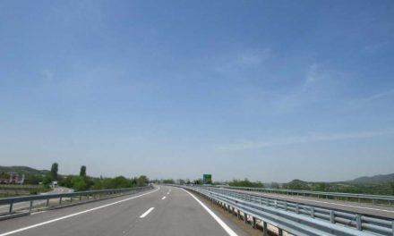Затворена една лента на дел од aвтопатот Скопје – Велес