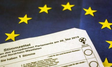 Европски избори со гласачко ливче од еден метар