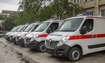 Скопската Итна помош доби шест нови возила