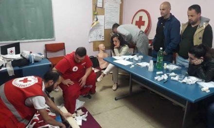 Крушево: Обука за градење на капацитетите на спасувачката служба и подобро обезбедување на настаните