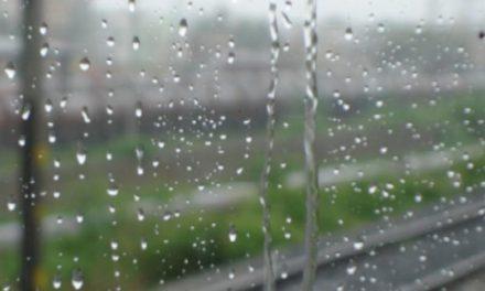 Променливо облачно со повремен дожд и северен ветер