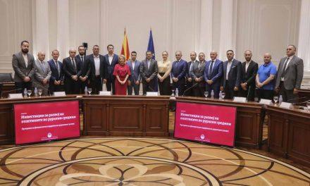 Крушево: Потпишан договор за изградба на патот до Крушевското езеро