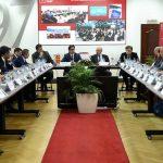 Работна средба на претседателот Пендаровски во Стопанската комора на Македонија