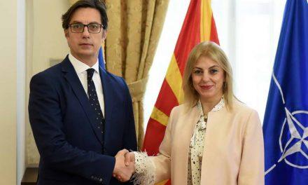 Претседателот Пендаровски ja прими амбасадорката на Република Турција, Тулин Еркал Кара