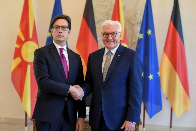 Штајнмајер-Пендаровски: Одлични билатерални односи со Германија на политички и економски план