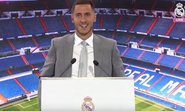 Еден Азар промовиран во нов играч на Реал Мадрид