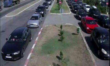 """АМСМ: Сообраќајот се одвива без застои, освен на граничните премини """"Богородица"""" и """"Табановце"""""""