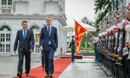 Започна официјалната посета на делегацијата на НАТО предводена од Генералниот секретар Столтенберг и на Северноатлантскиот Совет на алијансата