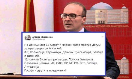 Пратеникот Милошоски шири лажни вести и не се чувствува одговорен