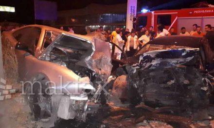 МВР: Две лица загинаа во синоќешната сообраќајна несреќа во Пинтија