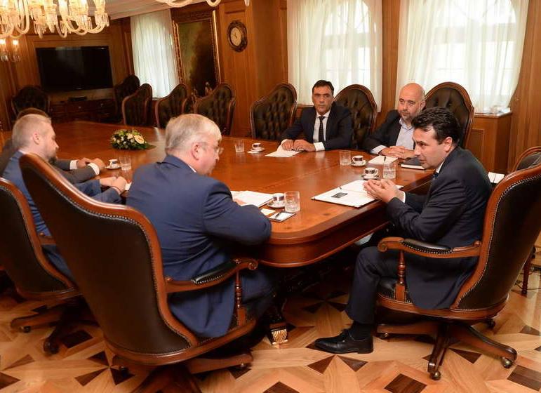 Средба Заев – Бездникин: Измамата на руските граѓани нема никакво влијание на односите меѓу двете земји