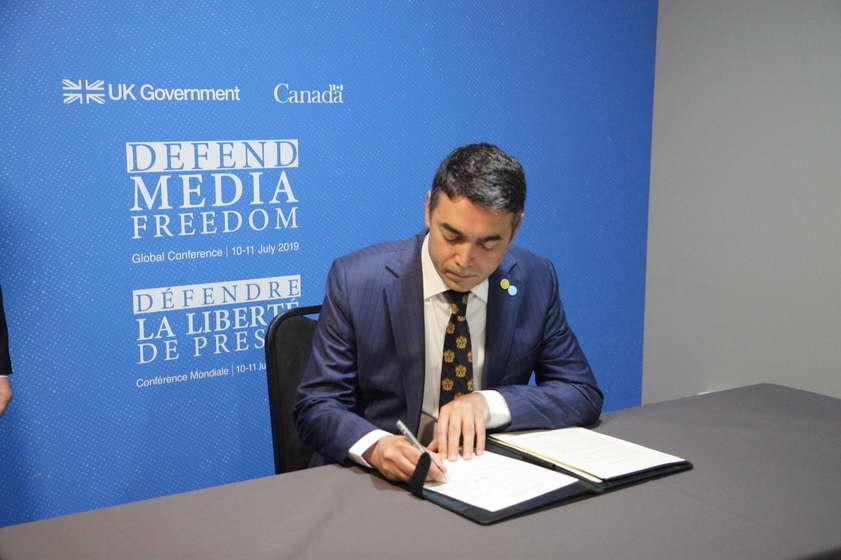 Македонија дел од Глобалната заложба за слобода на медиумите