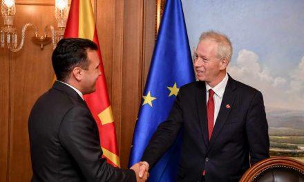На средбата Заев – Дион, констатиран напредок во клучните области и пренесена поддршката од канадскиот премиер Трудо