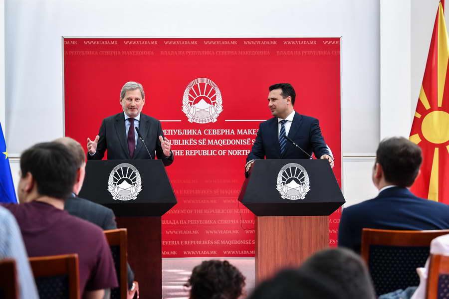 Телефонски разговор на Заев и Хан: Институциите да ги расчистат актуелните случаи и без одлагање да ги процесуираат предметите за незаконското прислушување од минатото