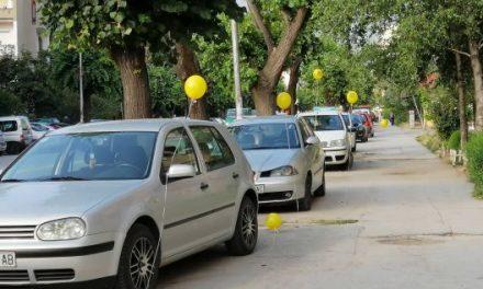 Герила акција во Битола – Ова не е паркинг!
