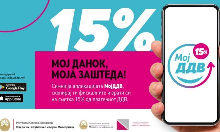 """Апликацијата """"МојДДВ"""" до сега ја симнале близу 58.000 граѓани, биле прочитани вкупно 433.204 сметки"""