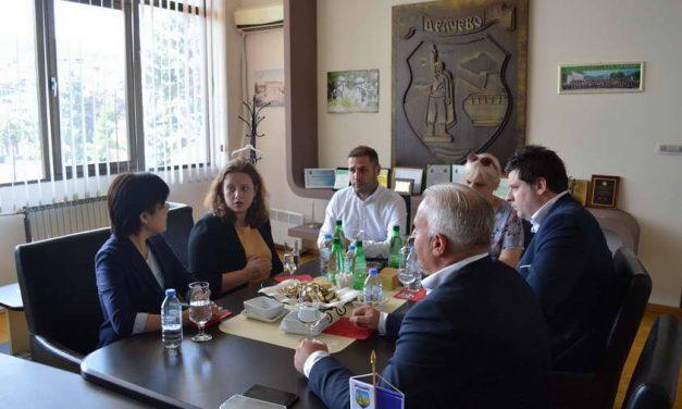 Јапонската амбасадорка Ханеда во посета на Делчево