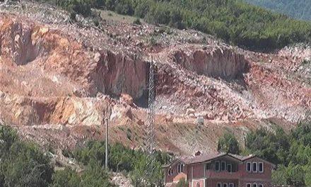 Жителите од струшкото село Лабуништа се гушат во прашината на осумте каменоломи