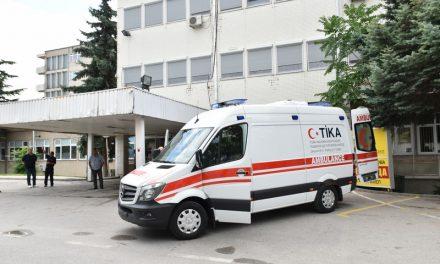 """Ново современо амбулантно возило за прилепската болница, донација од турската Влада и владината агенција """"ТИКА"""""""