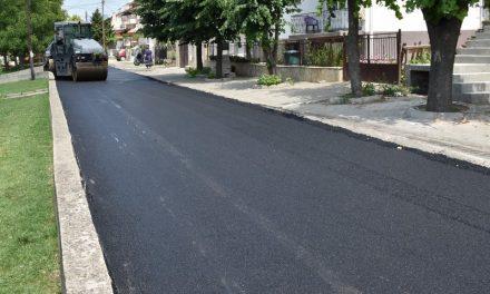 """Комплетно нов асфалт за улицата  """"Петта Прилепска бригада"""""""