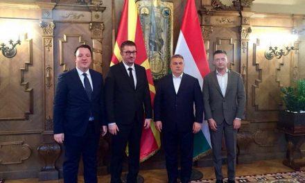 Мицкоски на средба со Орбан во Будимпешта, нема информации за средба со почесниот претседател Груевски