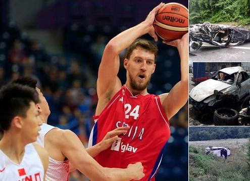 Во стравотна сообраќајна несреќа, тешко повреден српскиот кошаркарски репрезентативец Огњен Кузмиќ
