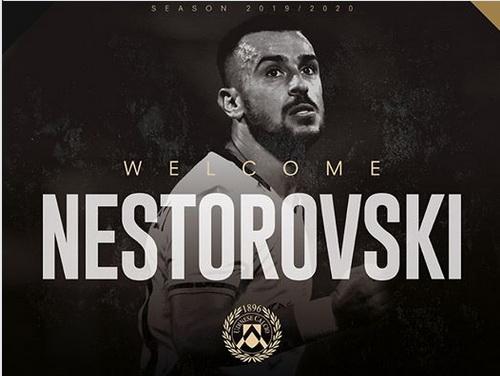 Илија Нестороски е нов играч на Удинезе