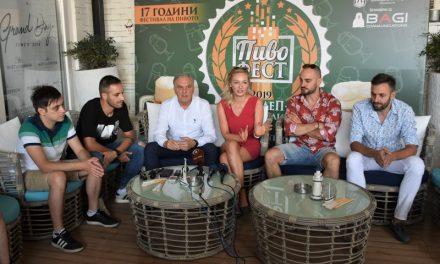 """Илија Јованоски: Успешно ќе одговориме на предизвикот кој го носи вториот ден на """"Пивофест 2019"""""""