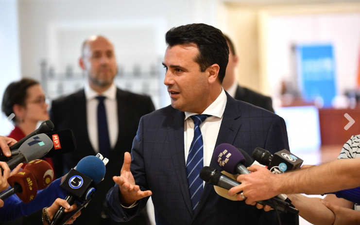 Заев: Законот мора да важи за сите, стопирани се двете градби во Охрид