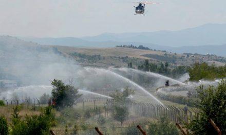 Интерактивна вежба за заштита и спасување во случај на пожар организирана во ОКТА