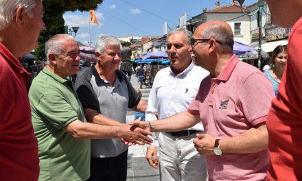 Министерот Димковски во посета на општина Прилеп