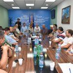 Директорката на УЈП, Лукаревска и градоначалникот Јованоски на средба со прилепските угостители