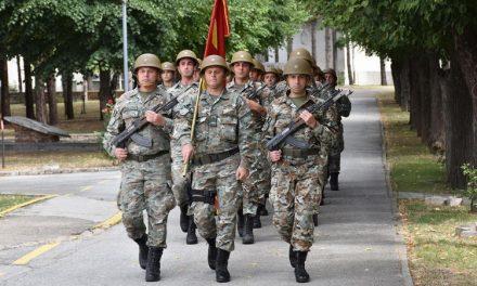 """Денот на АРМ одбележан во касарната """"Мирче Ацев"""""""