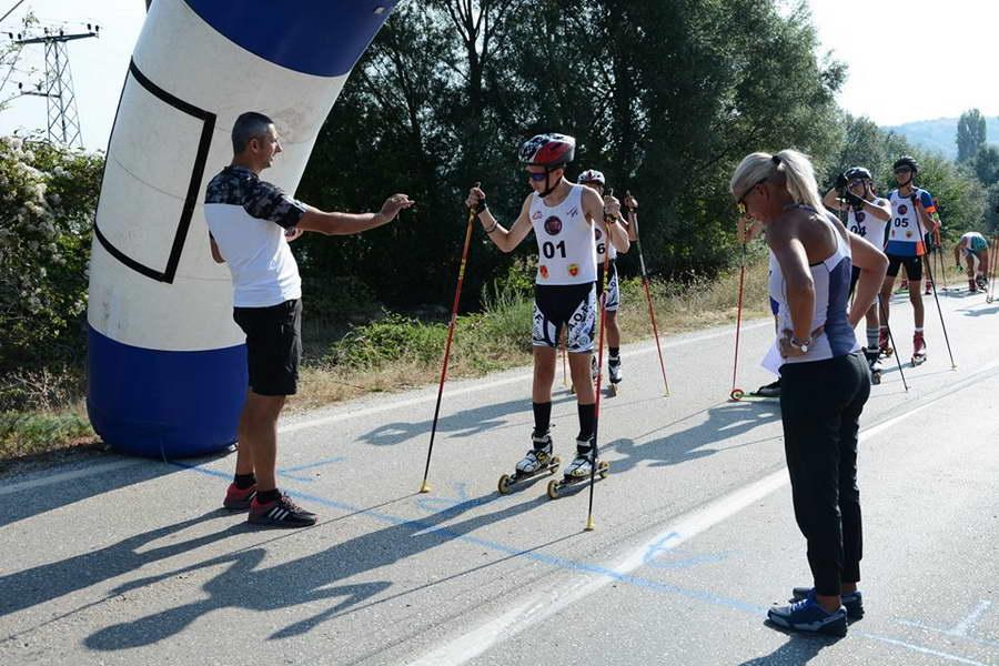 """Трет меѓународен натпревар во нордиско скијање ФИС Ролер ски куп """"Тоше Проески"""""""