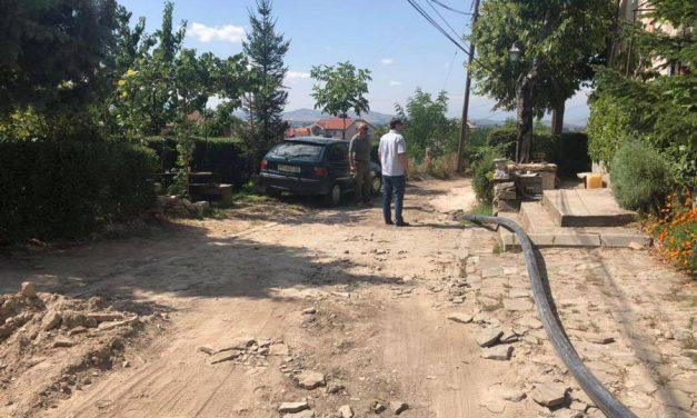 """Прилепски """"Водовод и канализација"""" ги интензивира градежните работи за менување на старата градска водоводна мрежа"""