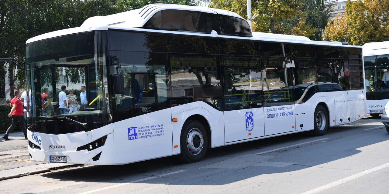 Четири нови еколошки автобуси од денеска ставени во функција на градскиот превоз