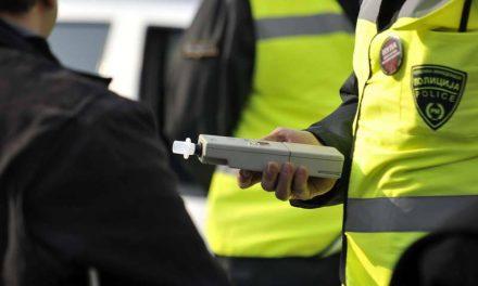 Три пати зголемен бројот на сообраќајки со возачи под дејство на алкохол (инфографик)